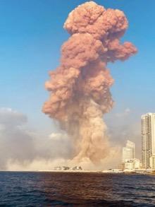 Израиль наносит удар по Бейруту с помощью нового оружия,   Тьерри Мейсан