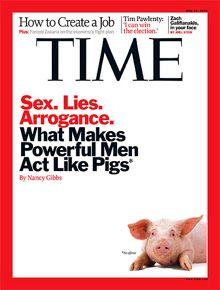 Couverture de Time Magazine mis en diffusion le 19 mai 2011.