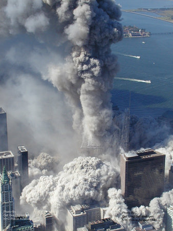 Footage Of 9 11. Footage of the destruction of