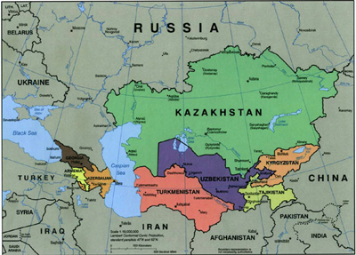 US Switching From Afghanistan to Central Asia