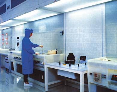 quimico en laboratorio