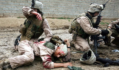 Soldados en la Guerra de Irak