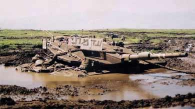 טנק מרכבה ככה צהל שיקר לחיילים ושלח אותם למותם בלבנון  Mer3903