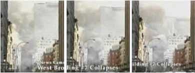 Edificio WTC7 derribándose