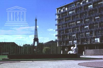 Sede de la UNESCO en París, Francia