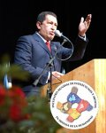 Humanity Attacks! Chávez Returns from World Tour to Inaugurate Conference with Artists and Intellectuals