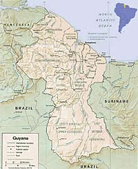 Stories From The East Guyana Venezuelas Unknown Neighbor By - Where is guyana