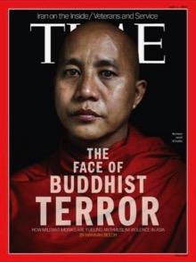 Dal 2013, i media occidentali s'impegnano a presentare il buddismo sotto un aspetto settario. Qui, il monaco Ashin Wirathu. Condannato nel 2003 a 25 anni di prigione, in ragione delle sue prediche anti-musulmane, ha beneficiato dell'amnistia generale nel 2012. Non è affatto difficile trovare dei fanatici in qualsivoglia religione.