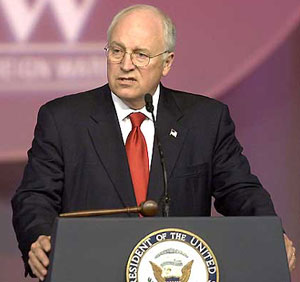 Dick cheney iraq war speeches