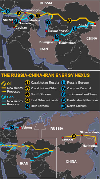 Pipeline Geopolitics Major Turnaround Russia China Iran Redraw