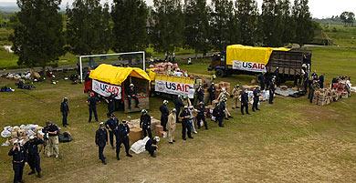 Us aid to asian tsunami pity