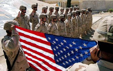 Resultado de imagen de EEUU despliega tropas en el 70 % de las naciones del mundo