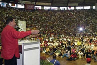 El día que Chávez se robó el Foro, por Aram Aharonian