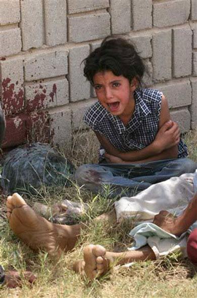 Resultado de imagen para genocidio de eeuu en irak