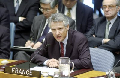 UN Dominique de Villepin