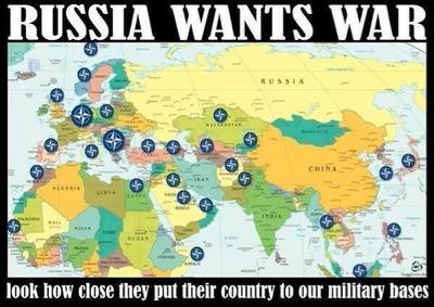 Die Einkreisung Russlands