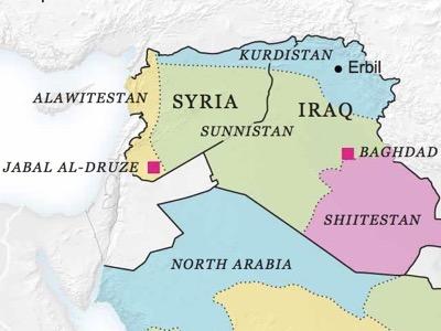 Syrien Karte Krieg.Frankreich Und Israel Starten Einen Neuen Krieg In Irak Und Syrien