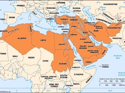 Orientul Mijlociu - Wikipedia