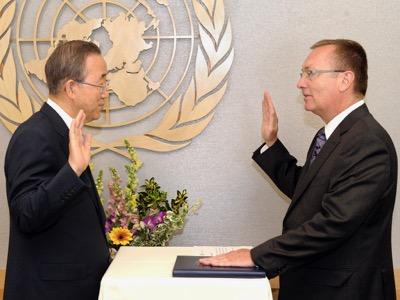 Wie die Verwaltung der UNO den Krieg organisiert