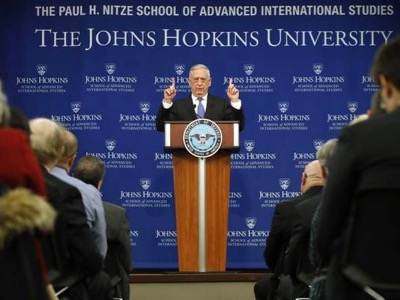 Remarks by James Mattis on the National Defense Strategy , by James ...