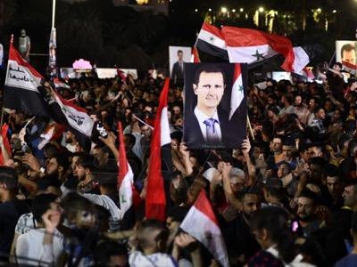 Präsidentenwahl in der Arabischen Republik Syrien