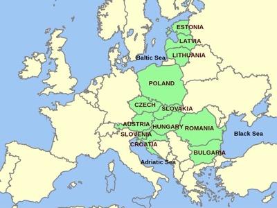 meere von europa