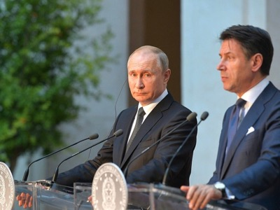 Die absurden Beziehungen der EU-Länder zu Russland