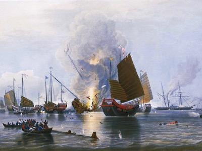Hongkong: der Vertrag von Nanjing kehrt zurück