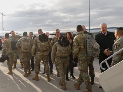 En la Europa cerrada del coronavirus, la Unión Europea abre las puertas a las tropas de Estados Unidos