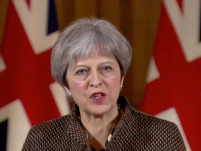 Syria strikes send 'clear message' on chemical weapons: British PM