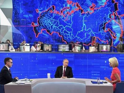 32d10527 Прямая линия с Владимиром Путиным 2019, Владимир В. Путин