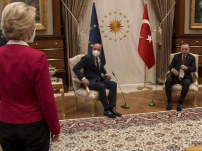 """Die Wahrheit über das """"Sofagate"""" von Ankara"""