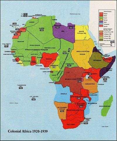 Karte Afrika Kolonien.Das Grosse Afrikanische Spiel Von Manlio Dinucci
